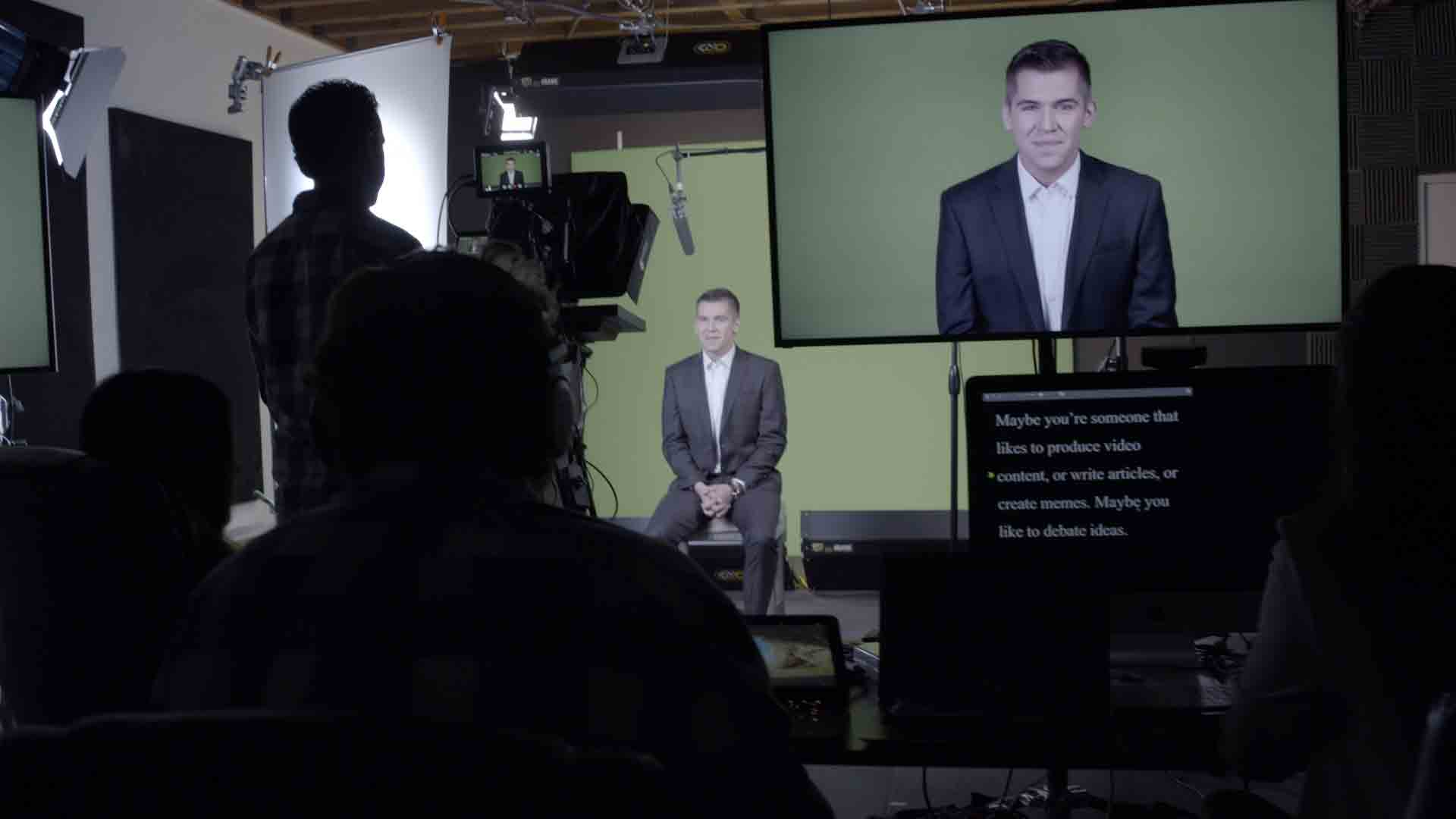 Behind the scenes at Prager U's Los Angeles studios