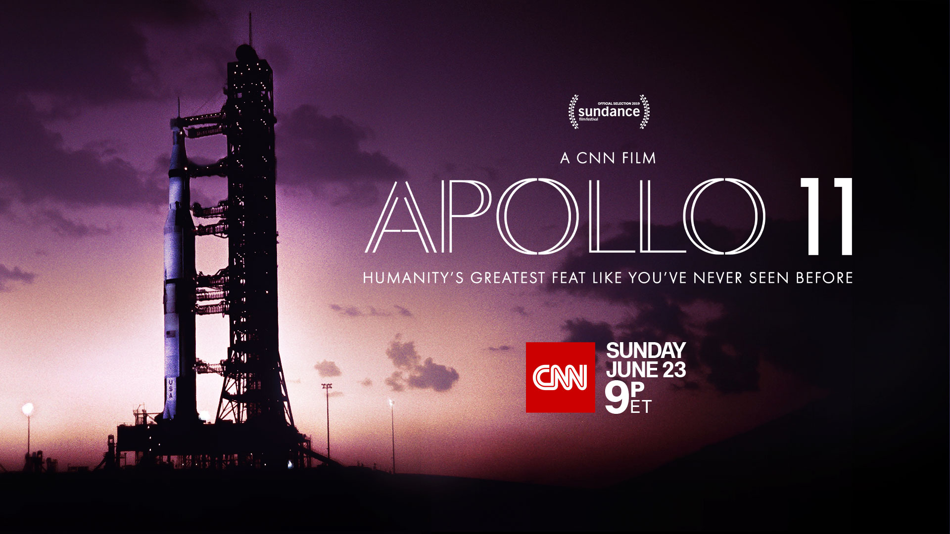 Epic Documentary 'APOLLO 11' Premieres June 23 for CNN Films