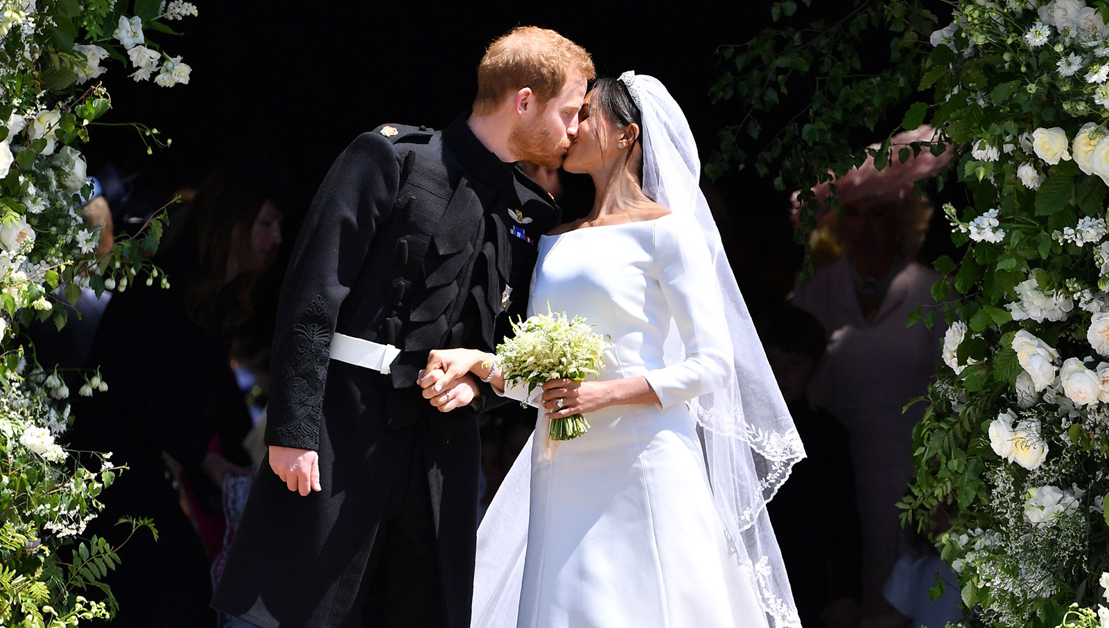 In a union of tradition and modernity, Meghan marries Prince Harry