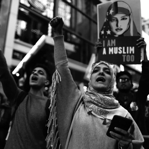 The 'I Am a Muslim Too' rally in New York City