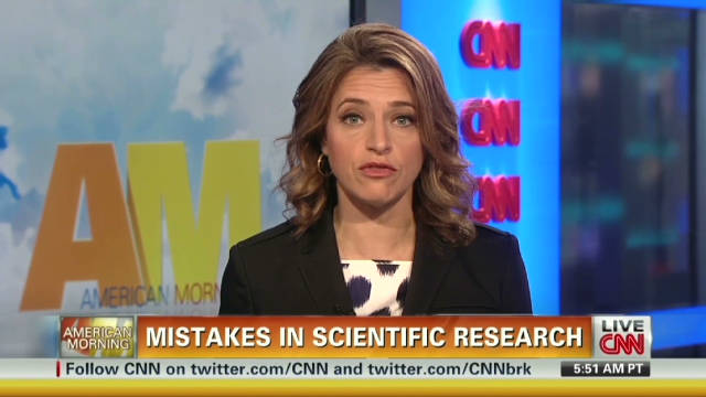 Mistakes in scientific research on the rise