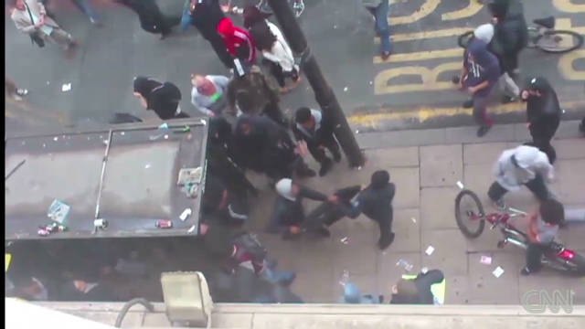 Stiff penalties for UK rioters