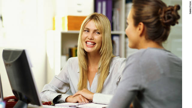 Having a sponsor at work, especially for women, can increase the chance of a younger manager's  career success.