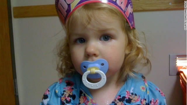 Audriana Willman was hospitalized in 2010 with a MRSA infection.