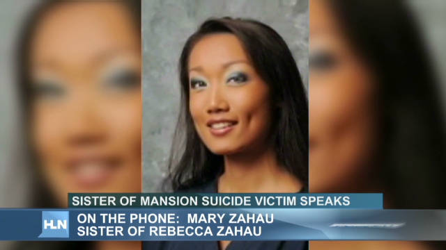 2011: Sister: Mansion suicide was murder