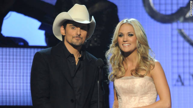 For the fifth year in a row, the CMAs will be hosted by Carrie Underwood and Brad Paisley.