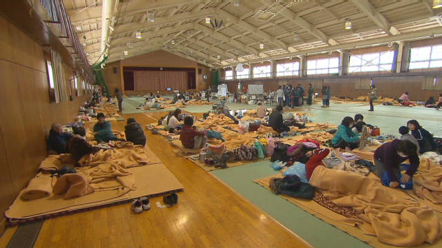 Displaced by disaster in Japan