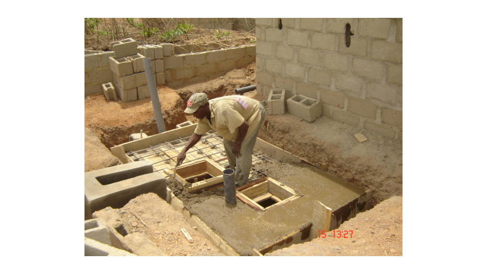 Inventor and Lagos resident Obayomi has devised a way to convert existing septic tanks into biogas generators with little more than plastic pipes, cement, a handful of gas valves and a day's worth of digging.