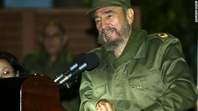 Angelita Castro, the sister to former Cuban President Fidel Castro (pictured above) has died in Havana, Cuba.