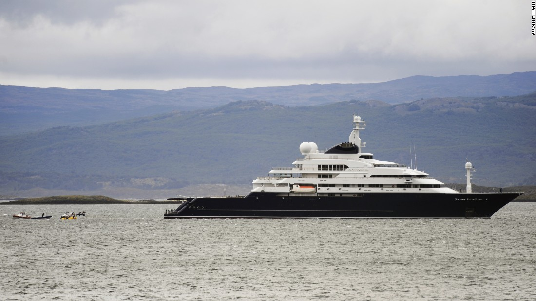 "Should ""Triple Deuce"" be built, Microsoft co-founder Paul Allen's yacht ""Octopus"" (pictured) would be bumped to fifth place on the list of world's biggest private yachts."