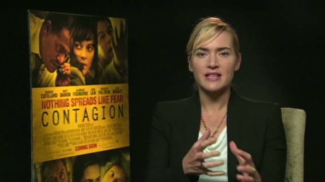 "Winslet admires docs behind ""Contagion"""