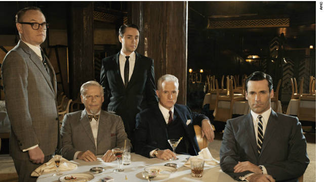 """Mad Men"" has dominated the best drama category in its four seasons and could set a record with a fifth-straight win this year."