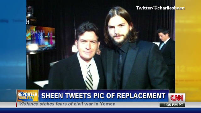 Sheen tweets pic from Emmys