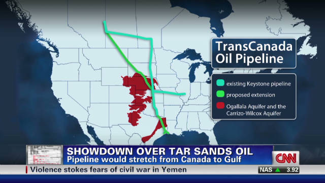 "Hannah: Canadian tar sands pipeline ""bad news"""