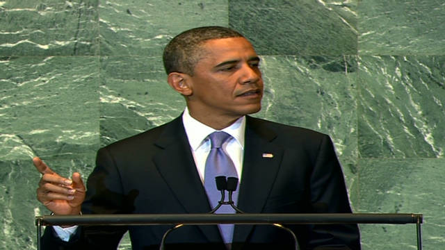 Obama applauds freedom's progress at U.N.