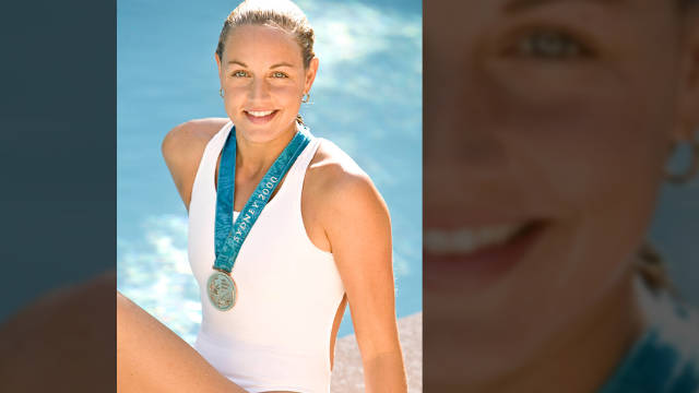 Catherine Garceau retired from competitive swimming in 2002 and began looking into holistic medicine.