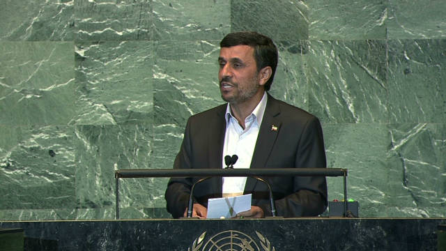 Iran's Ahmadinejad critical of U.S.