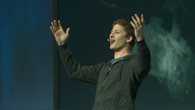 Andy Samberg spoofs Mark Zuckerberg
