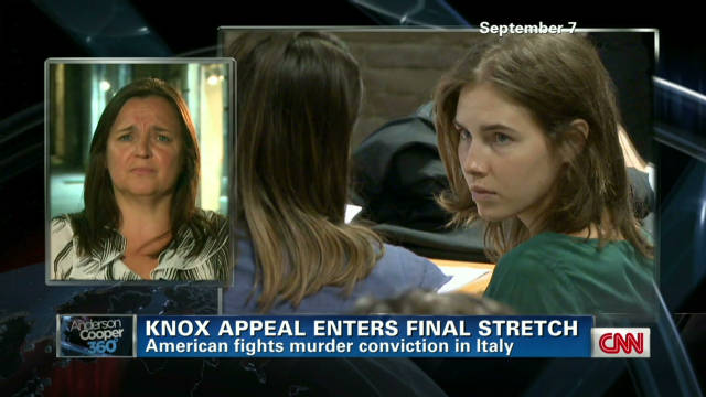 Amanda Knox's mother speaks out