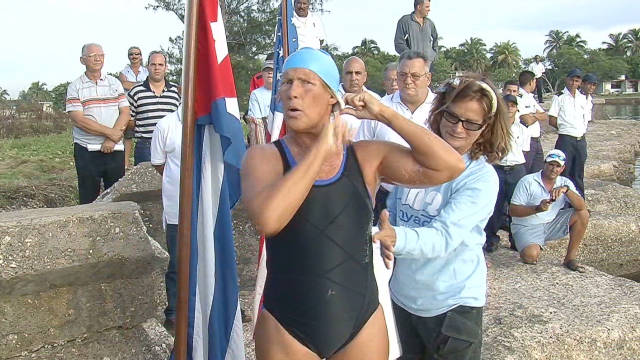 Nyad attempts Cuba-Florida swim again