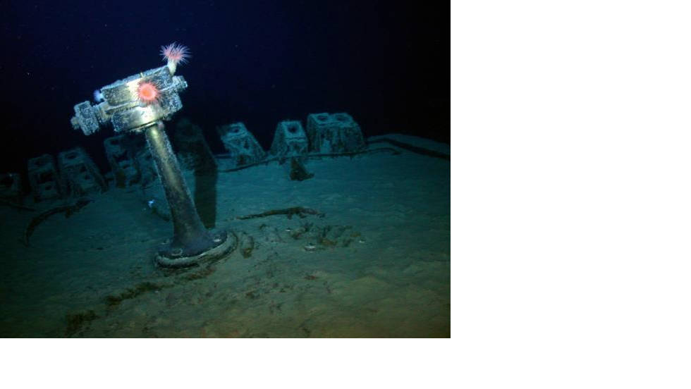 The SS Gairsoppa was discovered 300 miles off the coast of Ireland by underwater archaeolgy experts from Odyssey Marine Exploration.