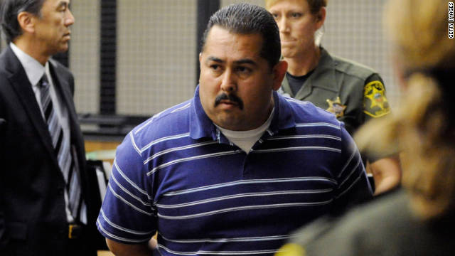 Officer Manuel Ramos pleaded not guilty Monday after being charged in the beating death of a mentally ill homeless man.