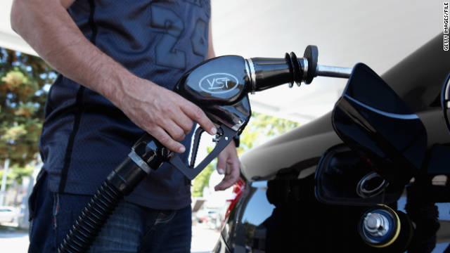 The price of gasoline has dropped but remains 38 cents higher than it was a year ago.