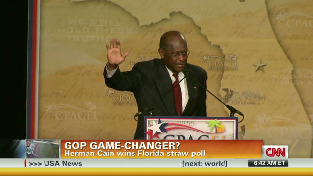 Cain's Florida win a GOP game-changer?