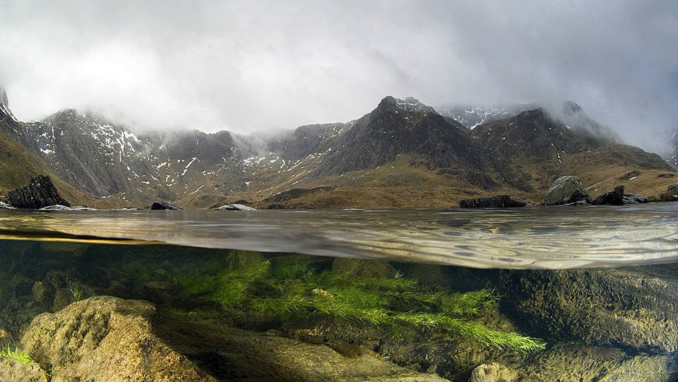 "LIVING LANDSCAPES: ""Llyn Idwal -- War and Peace"" by Graham Eaton"