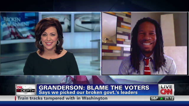 Granderson: Broken gov't? Blame voters