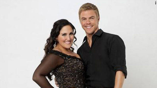 """I really love working with Derek. He's such a good teacher,"" Ricki Lake said about her dancing partner Derek Hough."