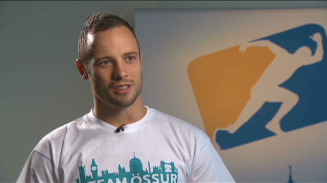 Pistorius' Olympic ambition