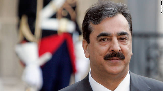 "Pakistan's Prime Minister Yousuf Raza Gilani (above) has fired his defense secretary for ""gross misconduct and illegal action."""