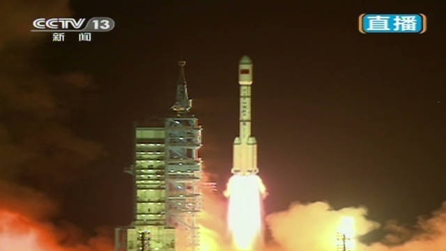 China launches unmanned space lab