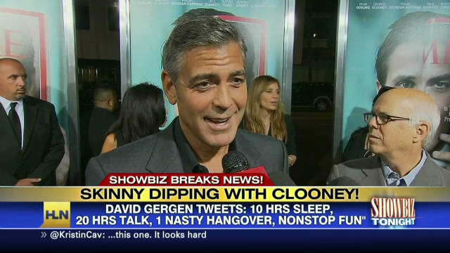 Clooney's skinny dipping confessions