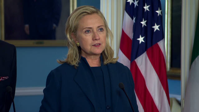 Clinton: Syrian attack inexcusable