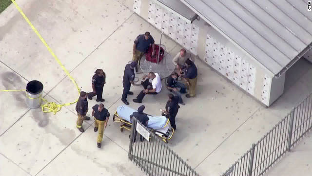 A female student was killed and female school administrator stabbed on Friday in California.