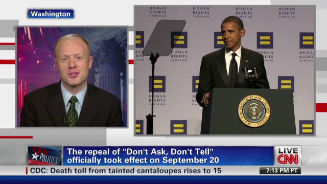 Pres. Obama addresses gay activists