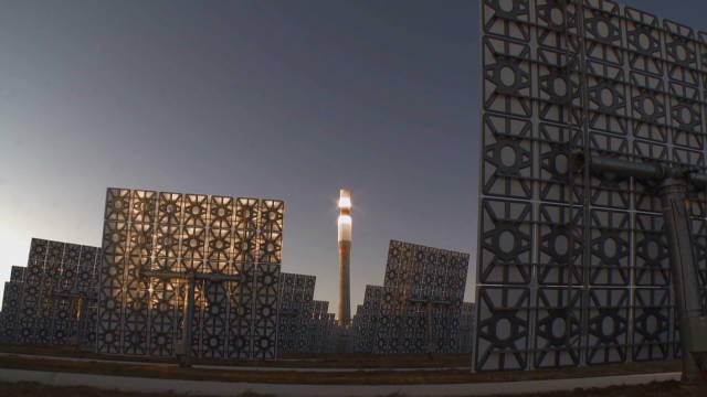 Spain's round-the-clock solar plant