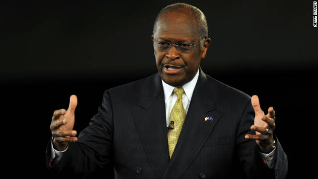 Republican presidential candidate Herman Cain speaks during the American Principles Project Palmetto Freedom Forum, September 5 in Columbia, South Carolina.