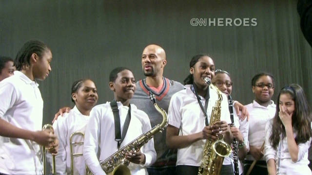 Rapper Common helps empower youth