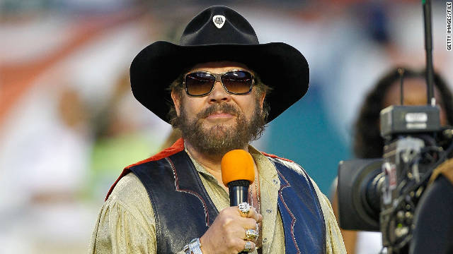 Hank Williams Jr., pictured on September 12, compared President Obama to Adolf Hitler in an interview this week on Fox News.