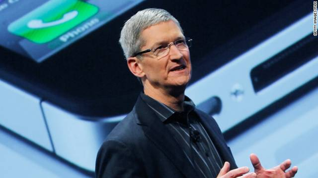 Apple's Tim Cook has inherited Steve Jobs' role as chief Apple pitchman.