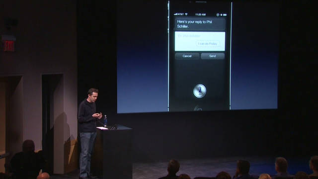 2011 Siri: Apple's new voice recognition