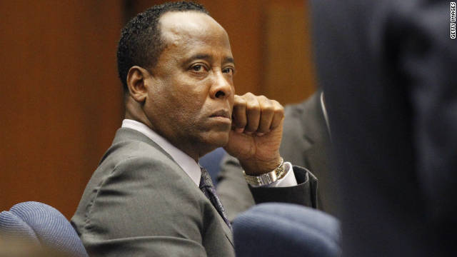 Dr. Conrad Murray's involuntary manslaughter trial is expected to go to the jury early next week.