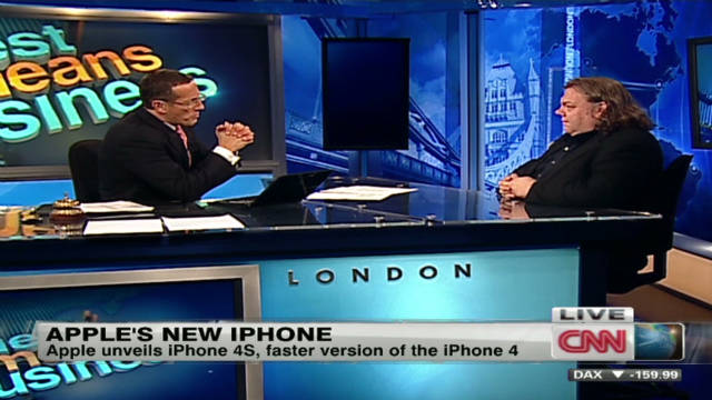 Apple unveils iPhone 4S