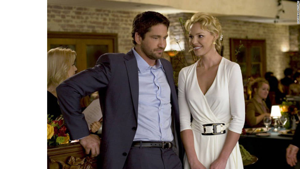 "Katherine Heigl's Abby can't seem to find a man in ""The Ugly Truth."" But, with help from male chauvinist Mike (Gerard Butler), Abby hooks the perfect guy."