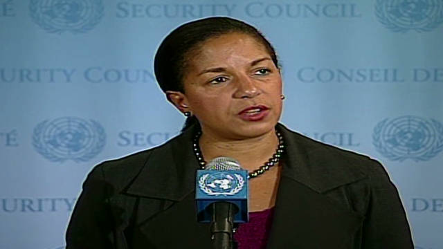 Rice: 'Sad day' for Syrian people