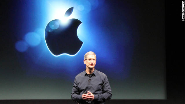 The iPhone 4S unveiling was Tim Cook's first public presentation since being named Apple CEO.