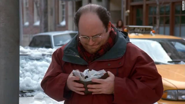 "Google says the first customer for Google Wallet should be George Costanza from the '90s TV show ""Seinfeld."""